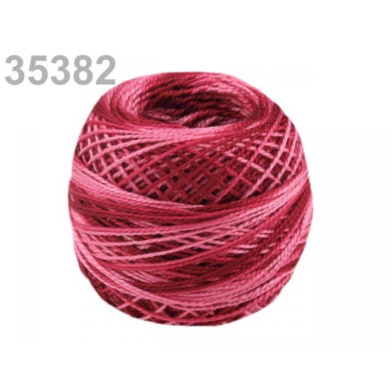 Butika.hu hobby webáruház - Hímzőcérna Cotton Perle Nitarna - policolor, 290019, 35382, biking red