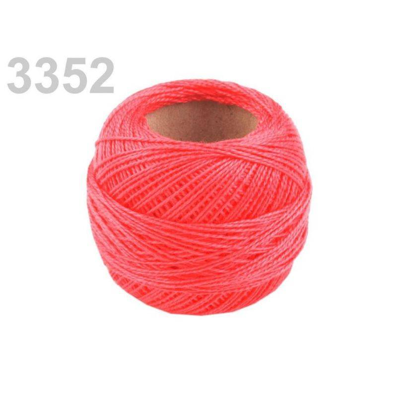 Butika.hu hobby webáruház - Hímzőcérna Cotton Perle Nitarna, Uni - 290104, 3352, Fandango pink