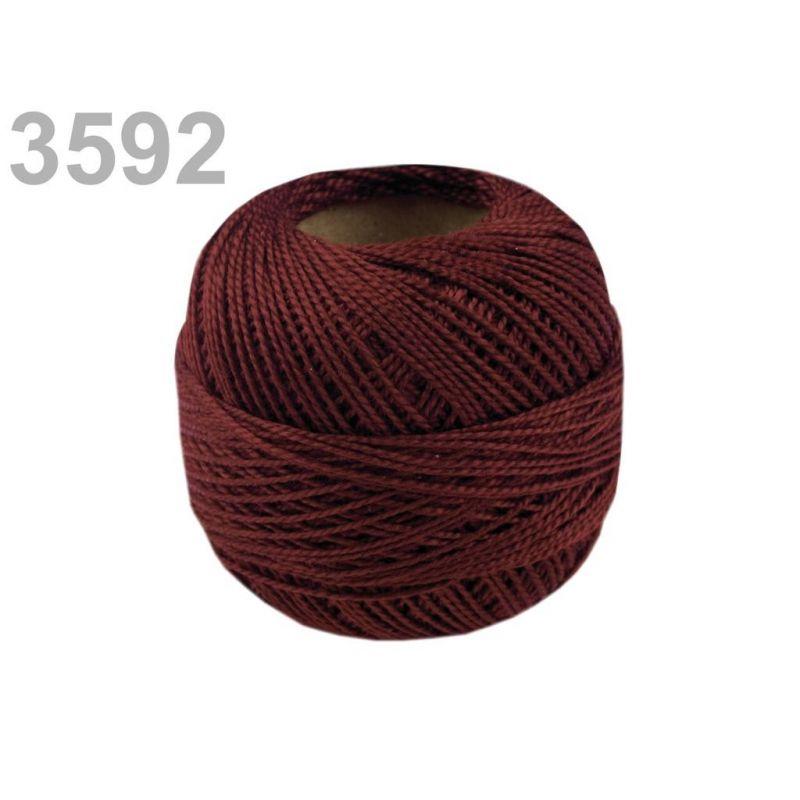 Butika.hu hobby webáruház - Hímzőcérna Cotton Perle Nitarna, Uni - 290104, 3592, Rhododenron