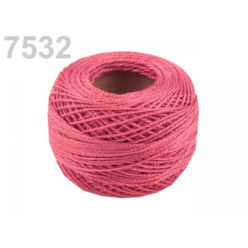 Butika.hu hobby webáruház - Hímzőcérna Cotton Perle Nitarna, Uni - 290104, 7532, száraz rózsa