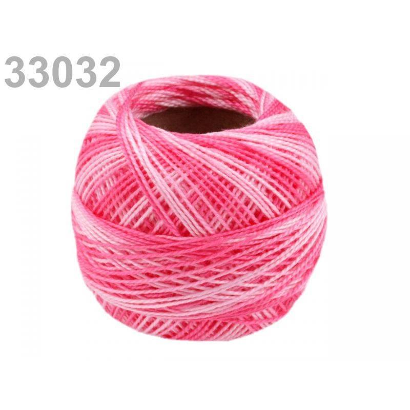 Butika.hu hobby webáruház - Hímzőcérna Cotton Perle Nitarna - policolor, 290019, 33032, rose