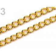 Butika.hu hobby webáruház - Fém táska lánc, 120cm, 060912 - arany