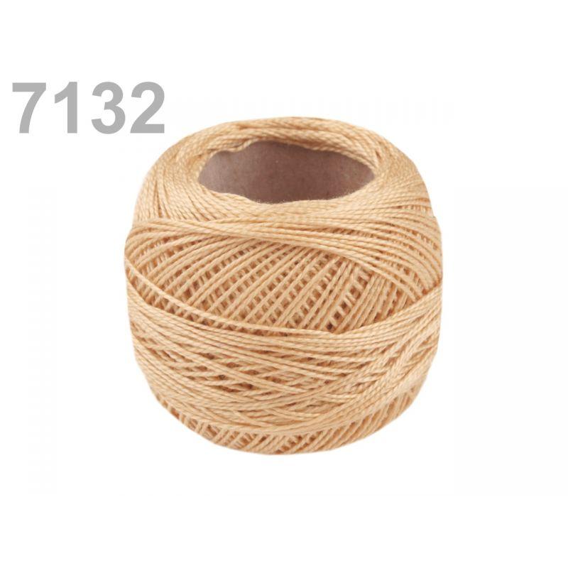 Butika.hu hobby webáruház - Hímzőcérna Cotton Perle Nitarna, Uni - 290104, 7132, nyári dinnye
