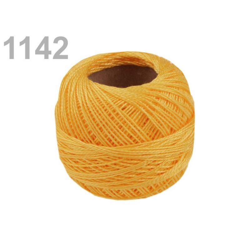 Butika.hu hobby webáruház - Hímzőcérna Cotton Perle Nitarna, Uni - 290104, 1142, sárgabarack