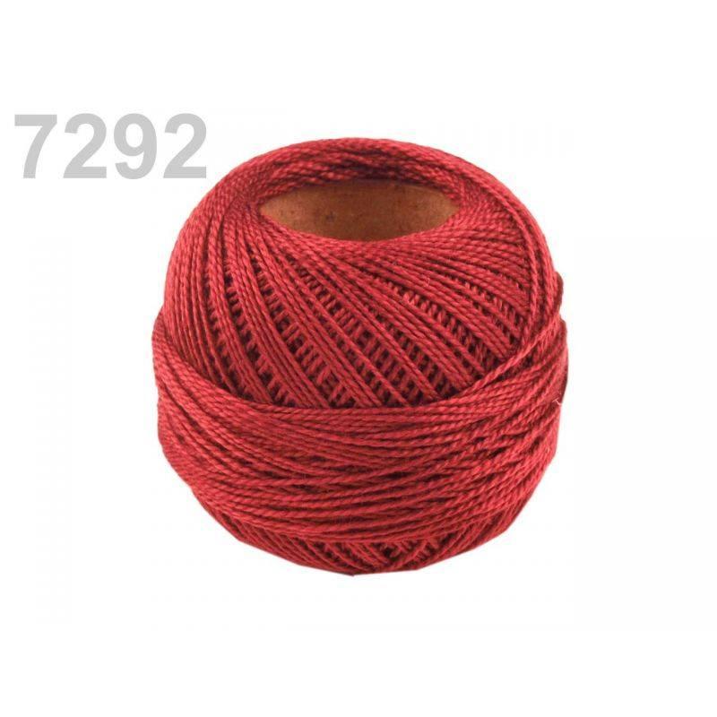 Butika.hu hobby webáruház - Hímzőcérna Cotton Perle Nitarna, Uni - 290104, 7292, redenit