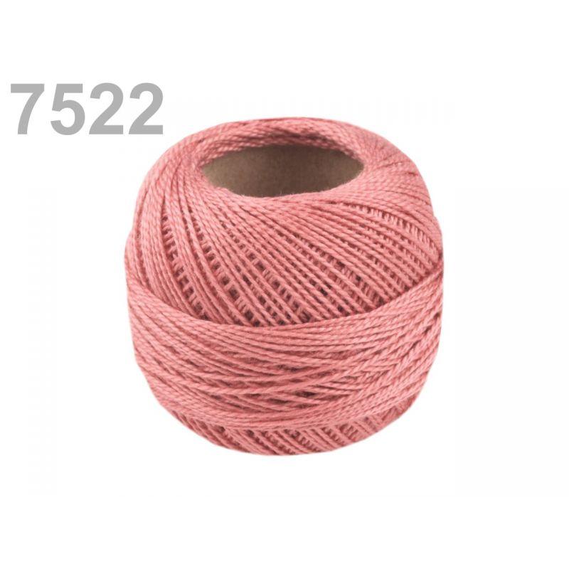 Butika.hu hobby webáruház - Hímzőcérna Cotton Perle Nitarna, Uni - 290104, 7522, coral almond