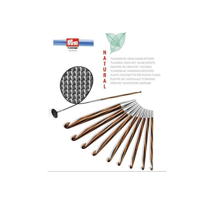 Butika.hu hobby webáruház - Cserélhető tuniszi horgolótű készlet Prym Knit Pro Natural, 223810