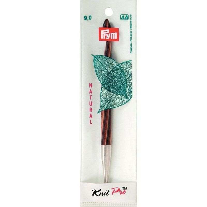 Butika.hu hobby webáruház - Cserélhető tuniszi horgolótűvég Prym Knit Pro Natural - 9mm/15cm, 223710