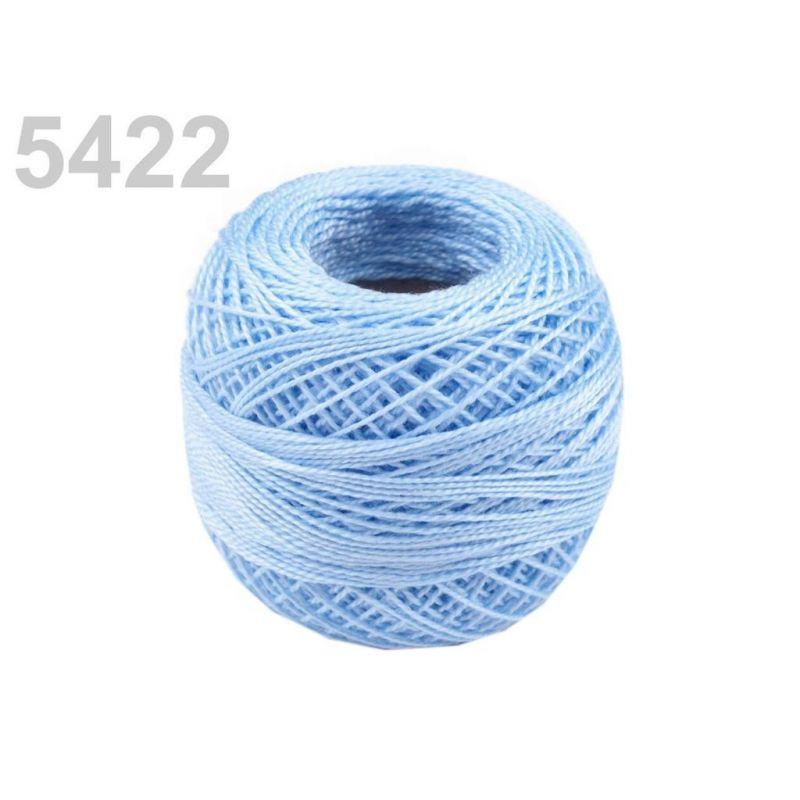 Butika.hu hobby webáruház - Hímzőcérna Cotton Perle Nitarna, Uni - 290104, 5422, aquamarin