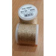 Butika.hu hobby webáruház - Metallic Madeira fémszálas hímzőcérna, No.20, 50m - Gold 2024