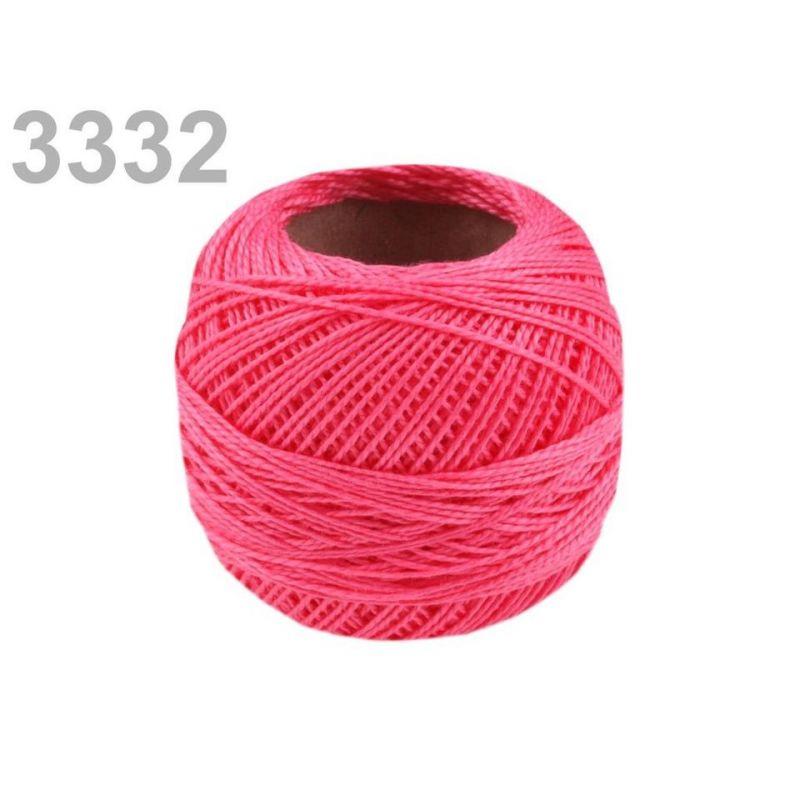 Butika.hu hobby webáruház - Hímzőcérna Cotton Perle Nitarna, Uni - 290104, 3332, babarózsa