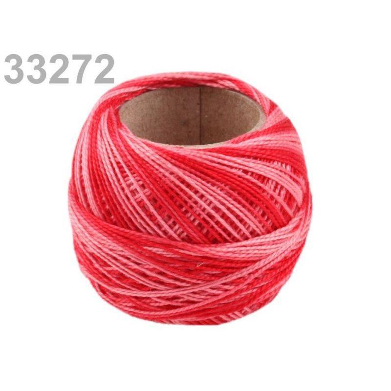 Butika.hu hobby webáruház - Hímzőcérna Cotton Perle Nitarna - policolor, 290019, 33272, True Red