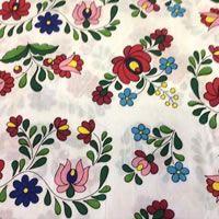Virágmintás patchwork pamutvászon méteráru | Butika.hu