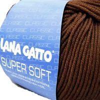 Lana Gatto Super Soft kötőfonal, extra finom merinó gyapjú