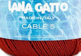 Ismerd meg a Lana Gatto Cable5 kötő/horgoló fonalat